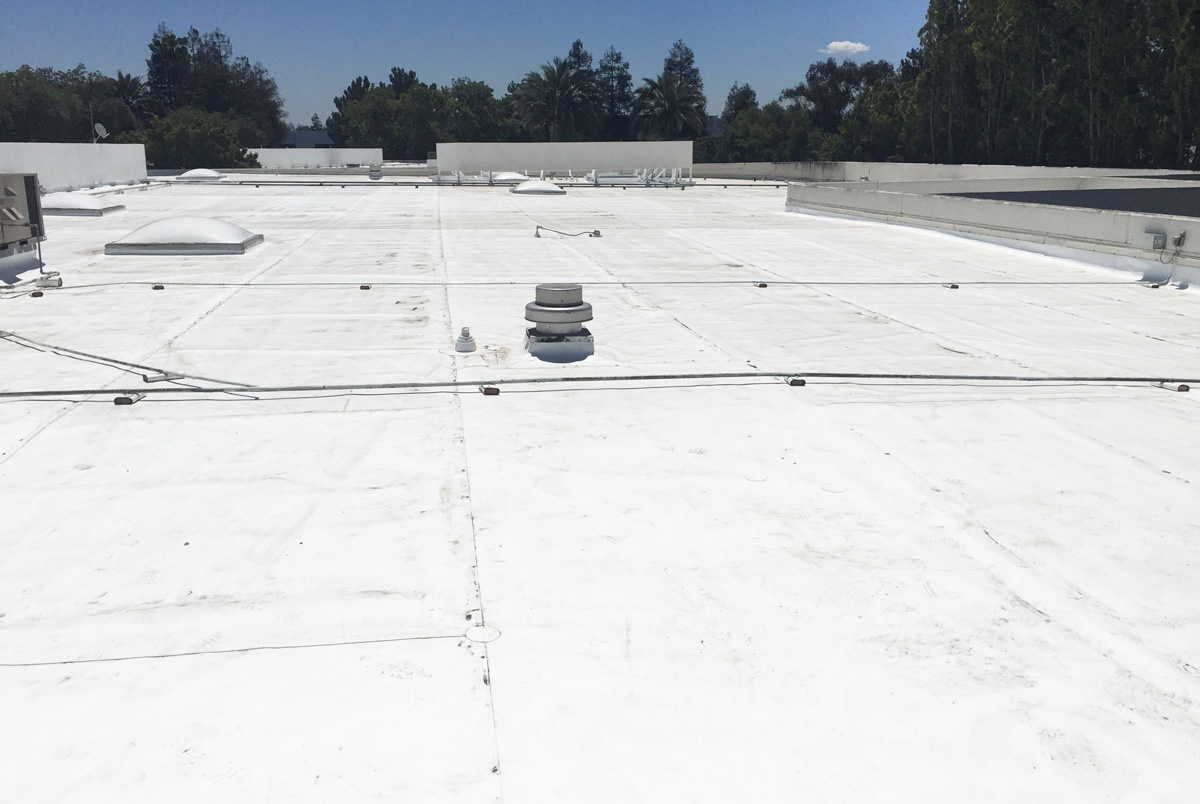 60 Mil Tpo Overlay Environmental Roofing And Waterproofing